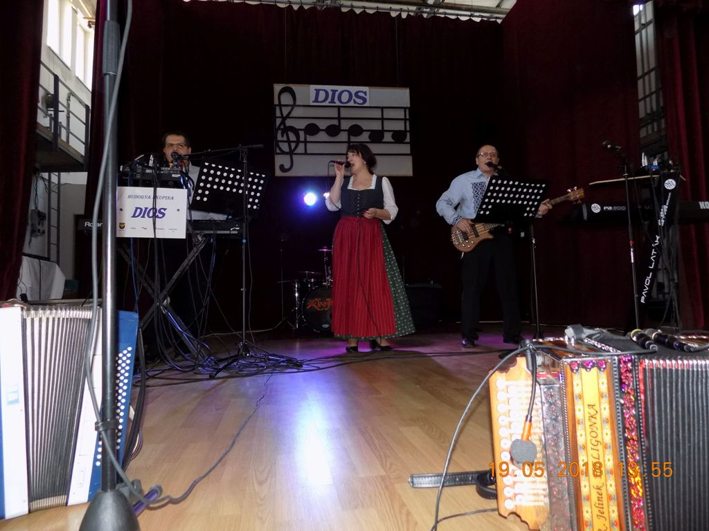 Krst CD Lužiansky kostolík v KD Lužianky